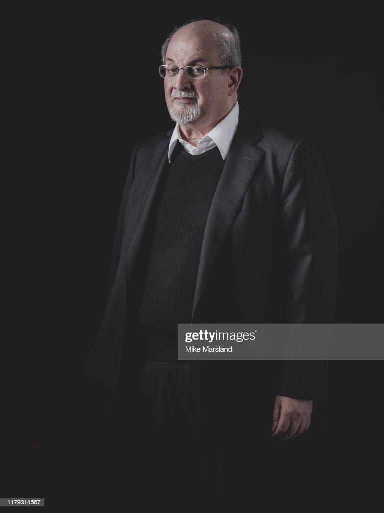 Salman Rushdie, Self assignment, October 18, 2019 : News Photo