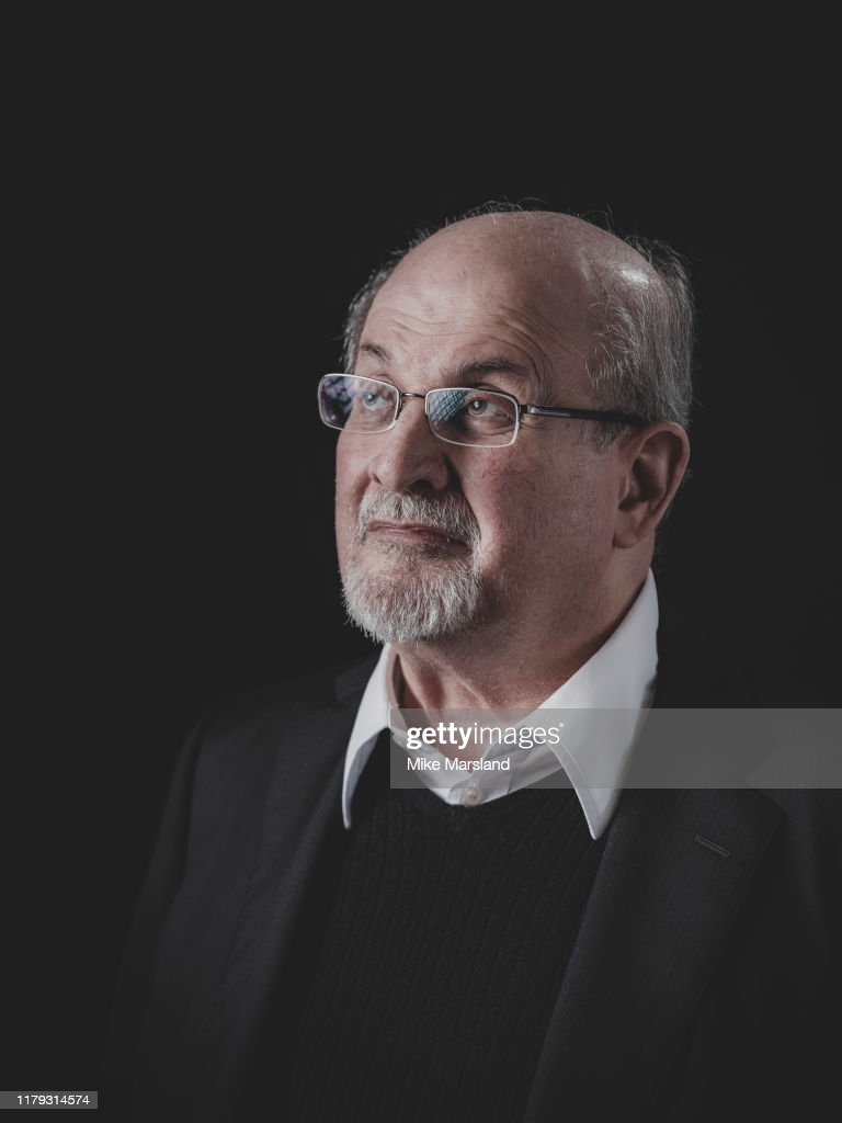 Salman Rushdie, Self assignment, October 18, 2019 : News Photo
