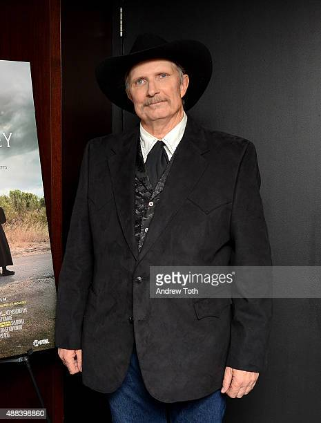 Writer Sam Brower attends the private screening and QA for Showtime Documentary Films Prophet's Prey at Bryant Park Hotel on September 15 2015 in New...