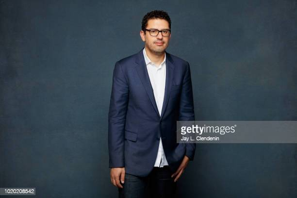 Writer Sam Esmail from 'Amazon Showrunners' is photographed for Los Angeles Times on July 20 2018 in San Diego California PUBLISHED IMAGE CREDIT MUST...