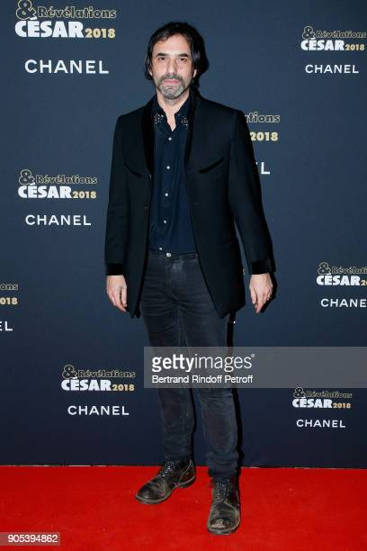 Writer Samuel Benchetrit attends the 'Cesar Revelations 2018' Party at Le Petit Palais on January 15 2018 in Paris France