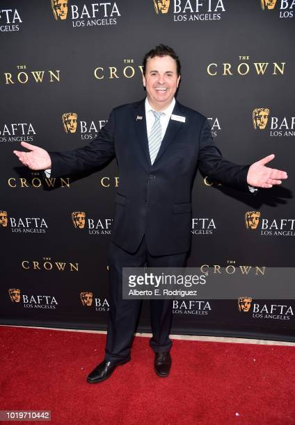Writer Sandro Monetti attends the BAFTALA Summer Garden Party at The British Residence on August 19 2018 in Los Angeles California