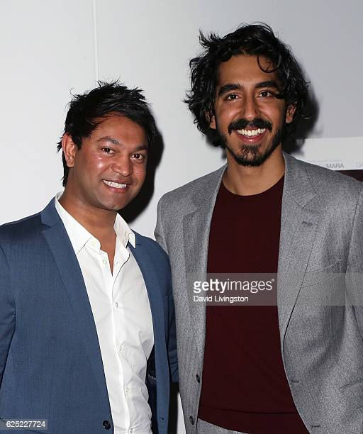 Writer Saroo Brierley and actor Dev Patel attend a Los Angeles special screening of The Weinstein Co's Lion at the Samuel Goldwyn Theater on November...