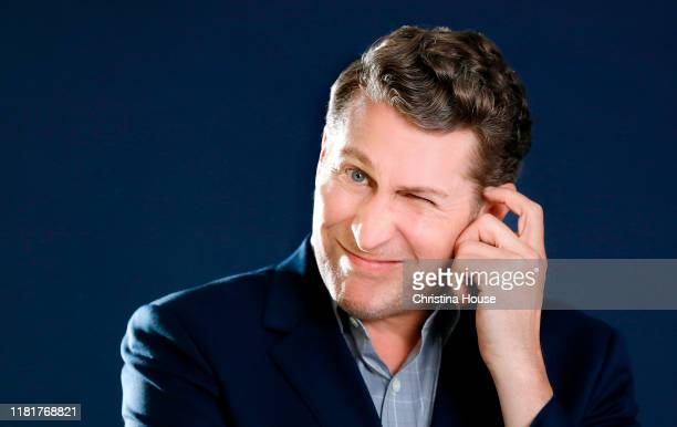 Writer Scott Aukerman is photographed for Los Angeles Times on September 16 2019 in Beverly Hills California PUBLISHED IMAGE CREDIT MUST READ...