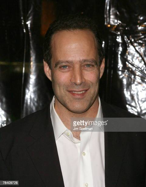 Writer Sebastian Junger arrives at the I Am Legend New York Premiere at the Theater at Madison Square Garden on December 11 2007 in New York City
