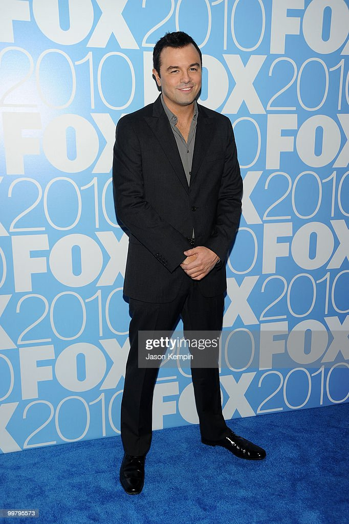 Writer Seth MacFarlane attends the 2010 FOX Upfront after party at Wollman Rink, Central Park on May 17, 2010 in New York City.