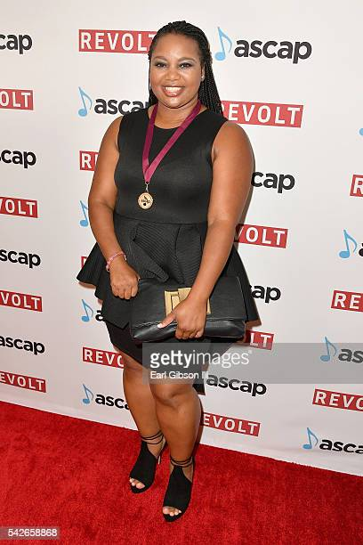 Writer Shanika Deshun Bereal attends the 2016 ASCAP Rhythm Soul Awards at the Beverly Wilshire Four Seasons Hotel on June 23 2016 in Beverly Hills...