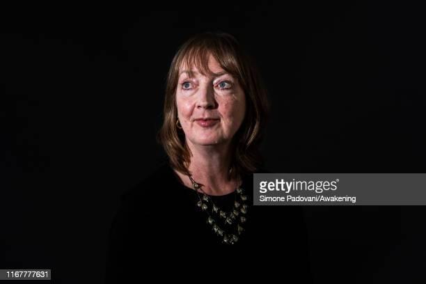 Writer Sharon Blackie attends a photo call during Edinburgh International Book Festival 2019 on August 13, 2019 in Edinburgh, Scotland.