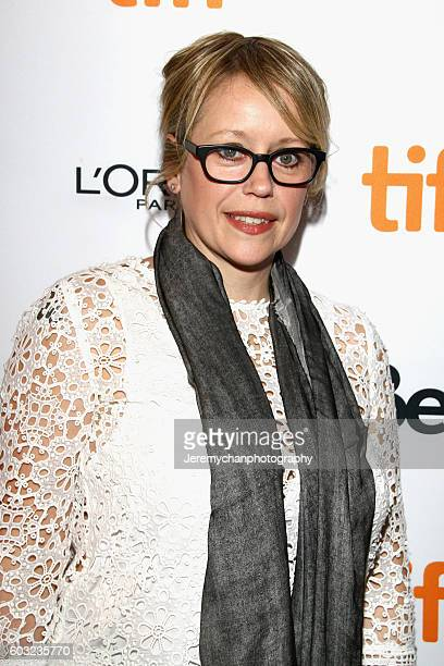 Writer Sherry White attends the 'Maudie' premiere held at The Elgin Theatre during the Toronto International Film Festival on September 12 2016 in...