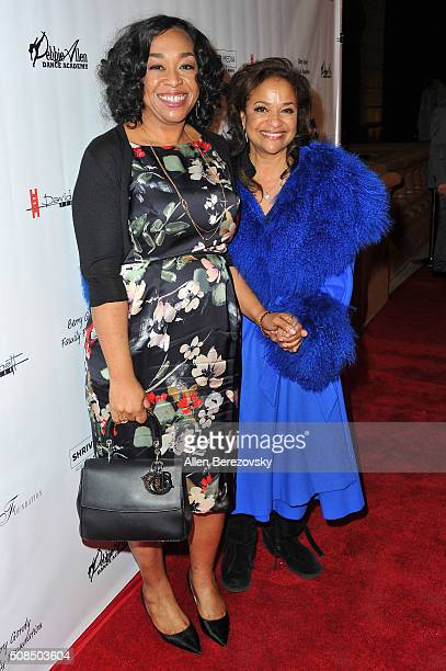 "Writer Shonda Rhimes and choreographer Debbie Allen attend the U.S. Premiere of Debbie Allen's ""Freeze Frame"" at The Wallis Annenberg Center for the..."