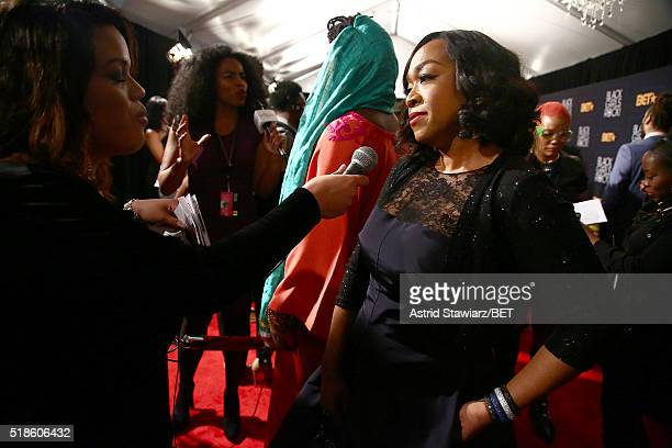 Writer Shonda Rhimes attends Black Girls Rock 2016 on April 1 2016 in New York City
