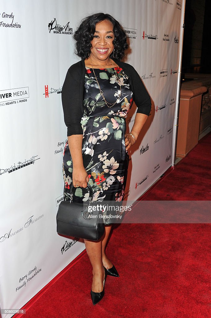 Writer Shonda Rhimes attends the U.S. Premiere of Debbie Allen's 'Freeze Frame' at The Wallis Annenberg Center for the Performing Arts on February 4, 2016 in Beverly Hills, California.