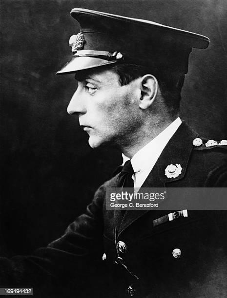 Writer Sir Compton Mackenzie , 1917.