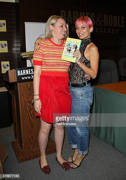 """Writer Sophia Rivka Rossi and TV Personality Nicole Richie have a conversation about Sophia Rivka Rossi's new book """"A Tale Of Two Besties"""" at Barnes..."""