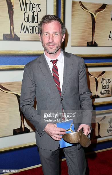 Writer Spike Jonze is honored during the 2014 Writers Guild Awards LA Ceremony at the JW Marriott Los Angeles at LA LIVE on February 1 2014 in Los...