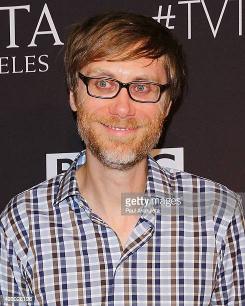 Writer Stephen Merchant attends the BAFTA Los Angeles TV Tea 2015 at SLS Hotel on September 19 2015 in Beverly Hills California