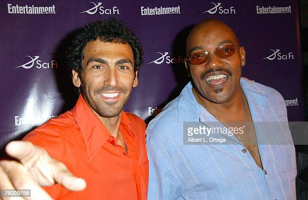 Writer Steve Kriozere and actor Ken Foree attends the Entertainment Weekly and the SciFi Channel 2007 Comic Con Party on July 27 2007 at the Hotel...