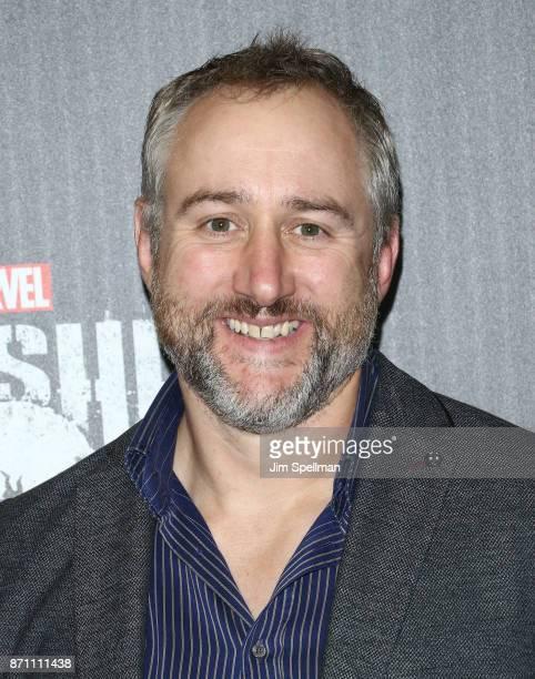 Writer Steve Lightfoot attends the 'Marvel's The Punisher' New York premiere at AMC Loews 34th Street 14 theater on November 6 2017 in New York City