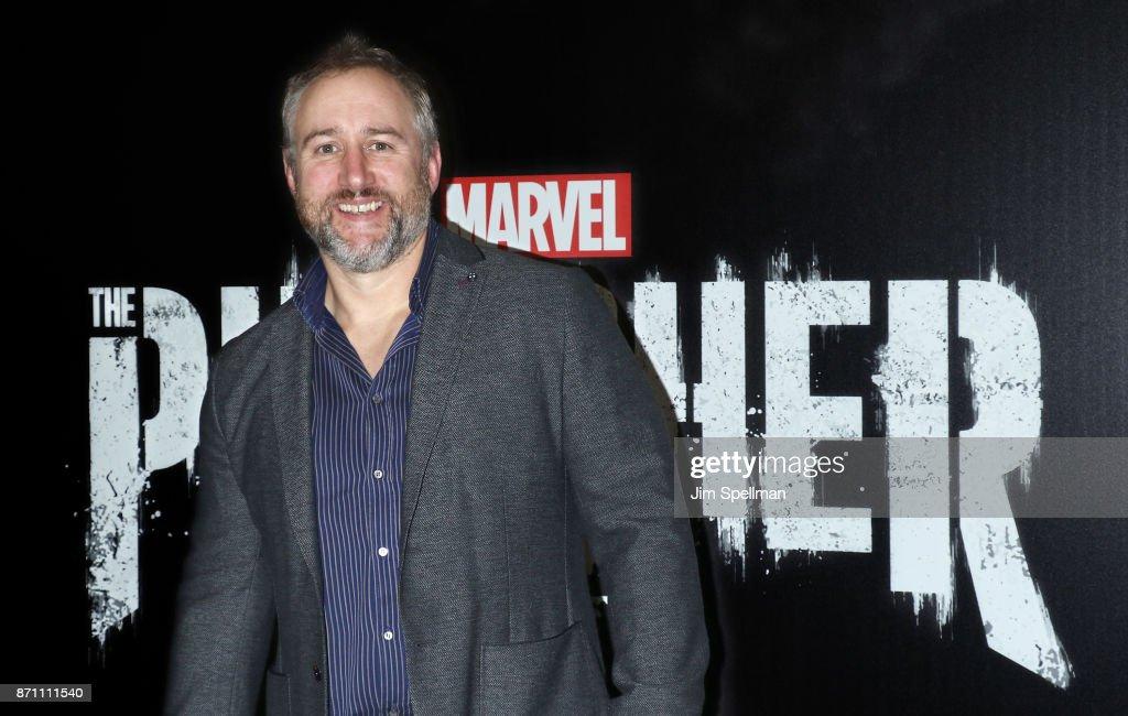 Writer Steve Lightfoot attends the 'Marvel's The Punisher' New York premiere at AMC Loews 34th Street 14 theater on November 6, 2017 in New York City.