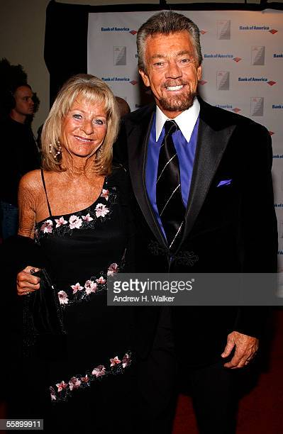 Writer Steven Cannell and his wife Marcia Cannell attend the Quill Book Awards on October 11 2005 in New York City