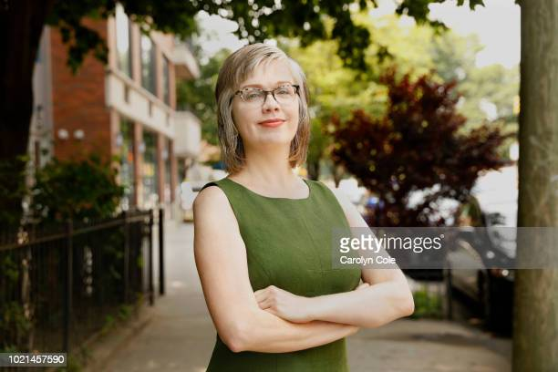 Writer Sue Landers is photographed for Los Angeles Times on July 1 2018 in Brooklyn New York PUBLISHED IMAGE CREDIT MUST READ Carolyn Cole/Los...