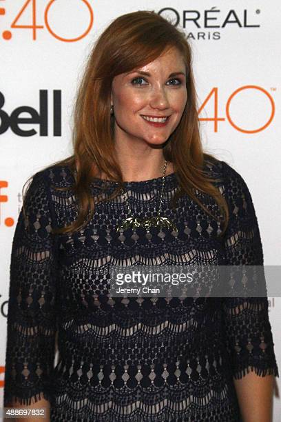 Writer Susan Burke attends the Southbound photo call during the 2015 Toronto International Film Festival at Ryerson Theatre on September 16 2015 in...