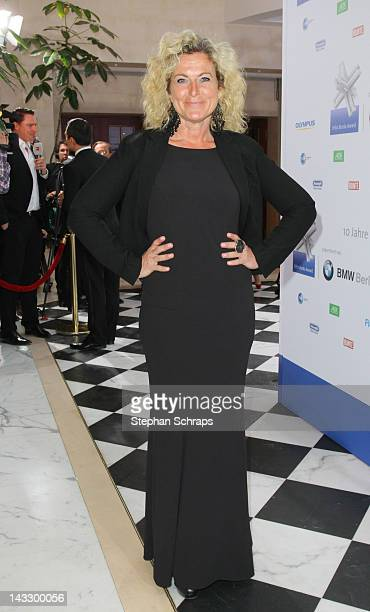 Writer Susanne Froehlich attends the award ceremony of the 'Felix Burda Award' at the Hotel Adlon Unter den Linden on April 22 2012 in Berlin Germany