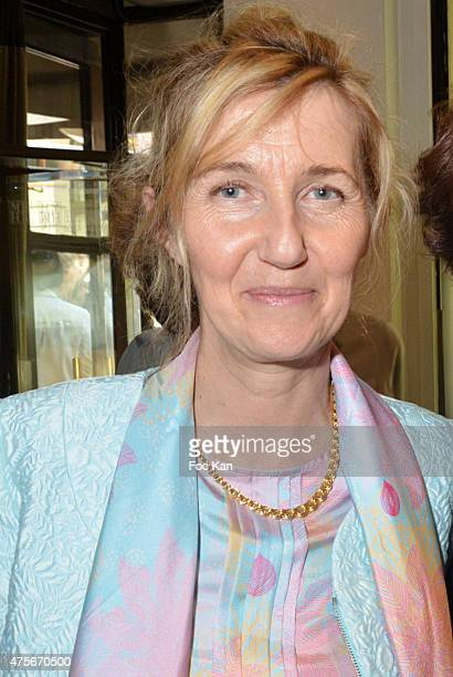 Writer Sylvie Bourgeois Harel attends the Marie Claire Magazine Litterary Awards 2015 At le Montalembert on June 2 2015 in Paris France
