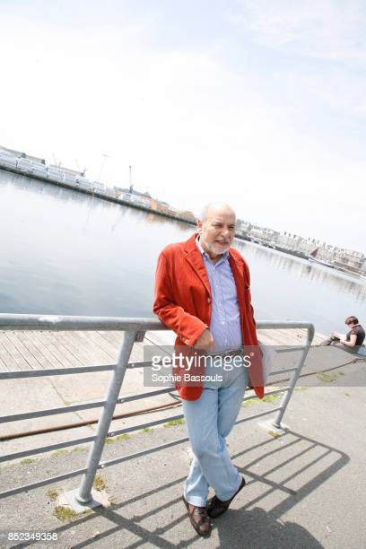 Writer Tahar Ben Jelloun at Saint Malo Festival