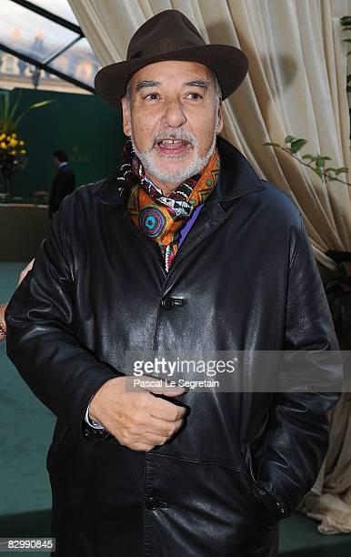 Writer Tahar Ben Jelloun attends the Rolex boutique opening on September 24 2008 in Paris France