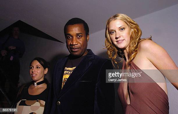 Writer Tamara Faith Berger director Clement Virgo and actress Lauren Lee Smith attend the THINKfilm afterparty for 'Lie With Me' during the 30th...