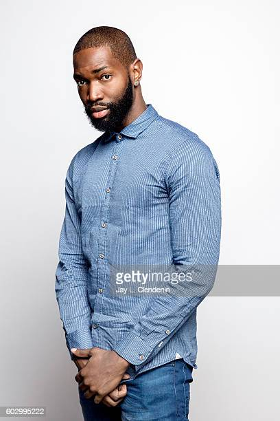 Writer Tarell Alvin McCraney of 'Moonlight' poses for a portraits at the Toronto International Film Festival for Los Angeles Times on September 10...