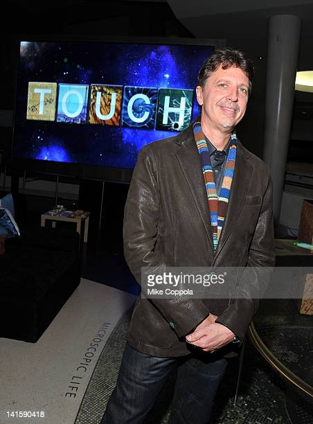 Writer Tim Kring attends the Touch premiere at the American Museum of Natural History on March 18 2012 in New York City