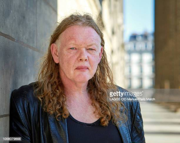 Writer Tim Willocks is photographed for Paris Match on October 4 2018 in Paris France