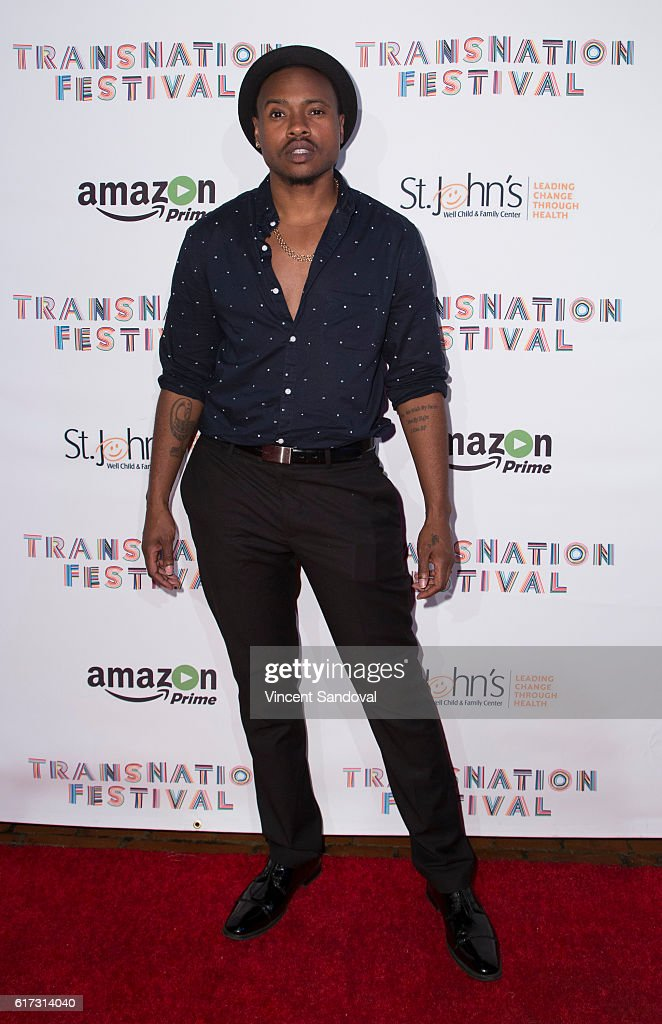 Writer Tiq Milan attends the 15th Annual Queen USA Transgender Beauty Pageant at The Theatre at Ace Hotel on October 22, 2016 in Los Angeles, California.