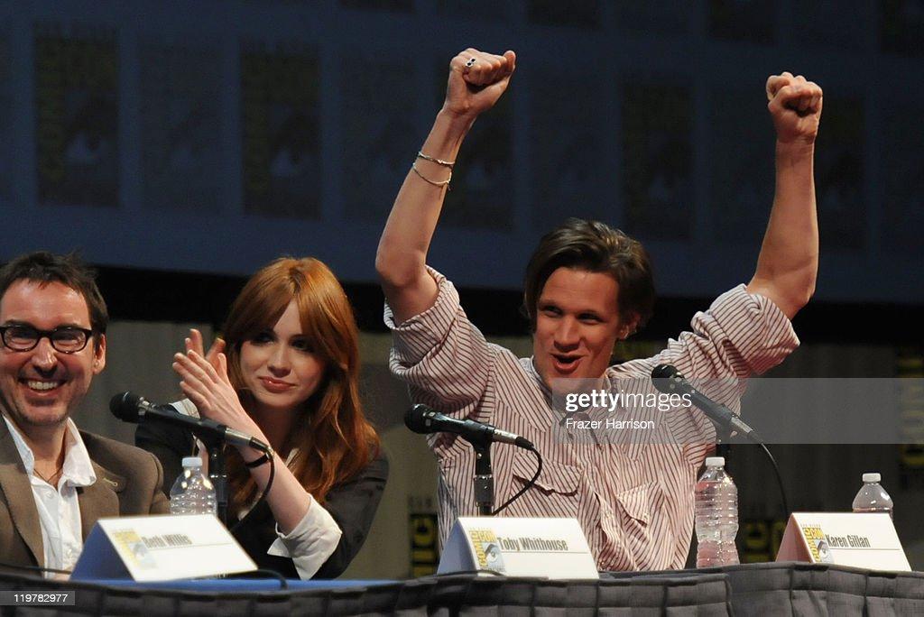 """Dr. Who"" Panel - Comic-Con 2011 : News Photo"