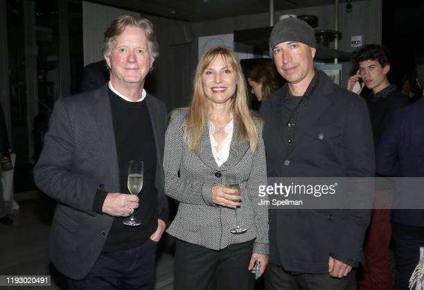 Writer Tom Flynn producer Kim Zubick and Ericson Core attend the screening after party for Disney's Togo at Pier 17 on December 09 2019 in New York...