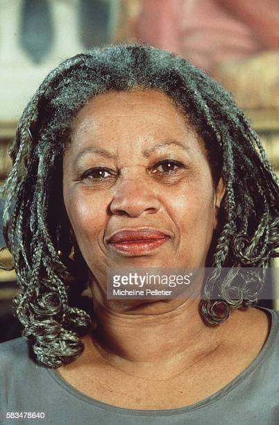 Writer Toni Morrison at the opening of the Academy of Universal Culture