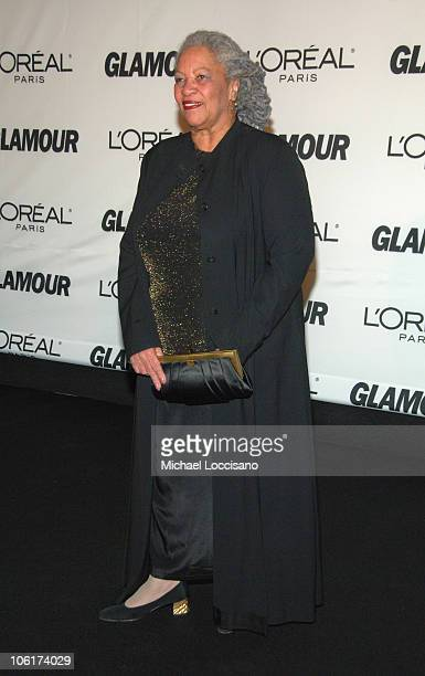 Writer Toni Morrison attends The Glamour Magazine 2007 Women of The Year Awards at Lincoln Center's Avery Fisher Hall on November 5 2007 in New York...