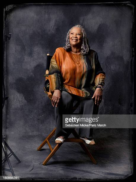 Writer Toni Morrison is photographed for Paris Match on July 24, 2012 in New York City.