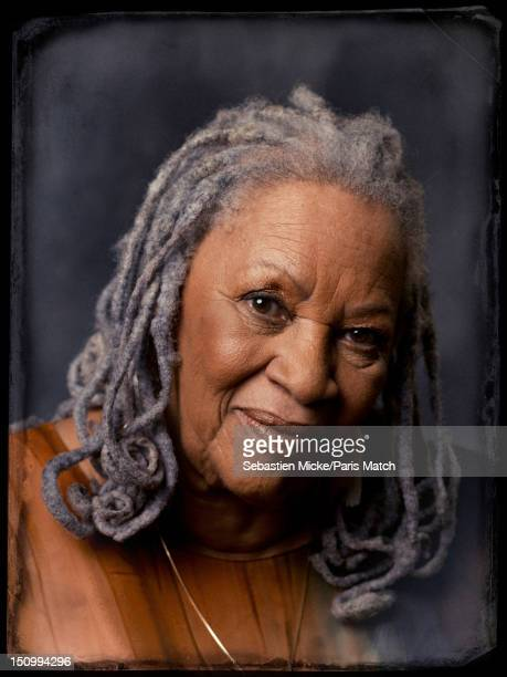 Writer Toni Morrison is photographed for Paris Match on July 24 2012 in New York City
