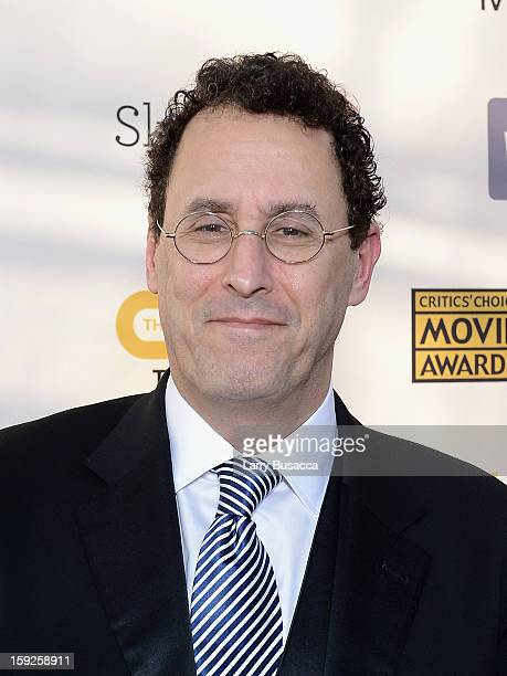 Writer Tony Kushner attends the 18th Annual Critics' Choice Movie Awards held at Barker Hangar on January 10 2013 in Santa Monica California