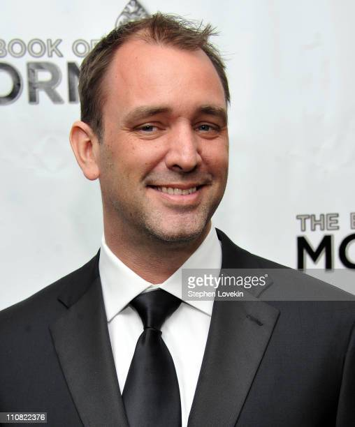 Writer Trey Parker attends the opening night of 'the Book of Mormon' on Broadway at Eugene O'Neill Theatre on March 24 2011 in New York City