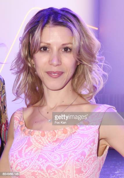 Writer Tristane Banon attend the Christophe Guillarme Show as part of the Paris Fashion Week Womenswear Spring/Summer 2018 on September 27 2017 in...