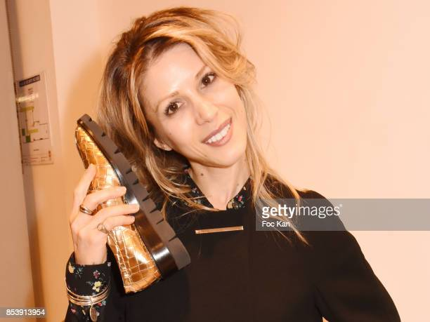 Writer Tristane Banon attends Avellino Cocktail Party at Avellino Store Rue de Richelieu on September 25 2017 in Paris France