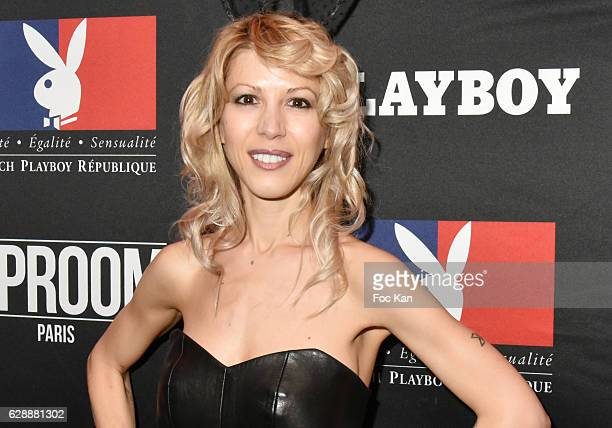 Writer Tristane Banon attends the Playboy France New Issue Launch Party at the VIP Room Theater on December 9 2016 in Paris France