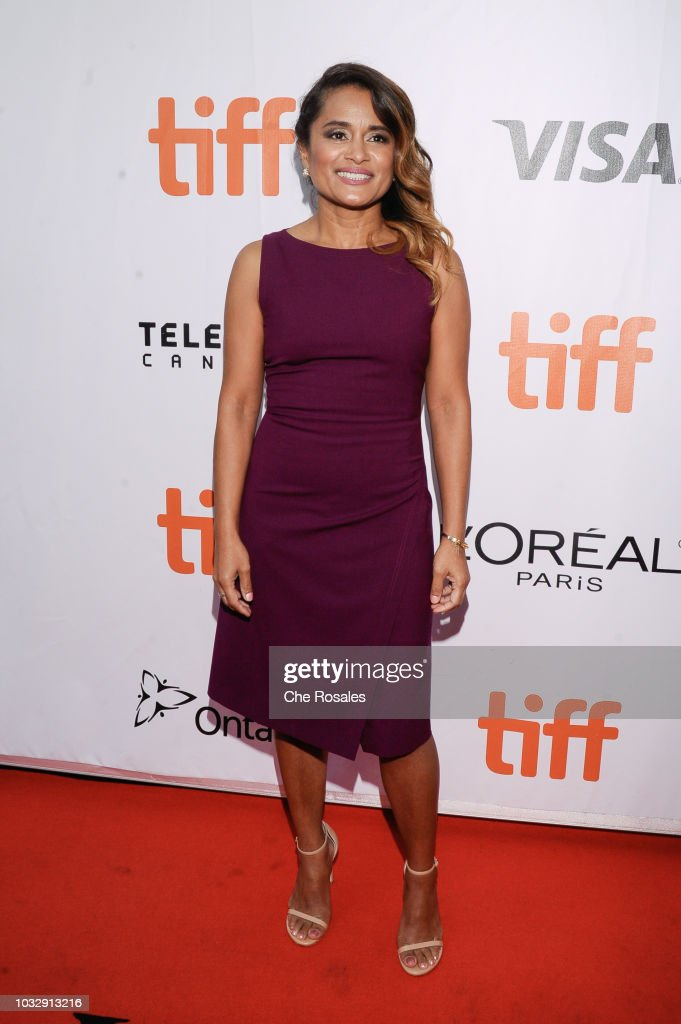 Writer Veena Sud attends 'The Lie' premiere at Roy Thomson Hall on September 13, 2018 in Toronto, Canada.