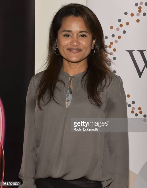 Writer Veena Sud poses for portrait at the Women in Entertainment and The Television Academy Foundation's Inaugural Women in Television Summit at...