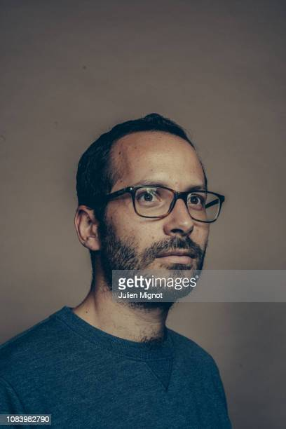 Writer Victor Pouchet poses for a portrait on September 2018 in Paris France