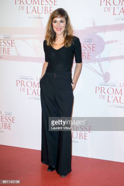 Writer Victoria Bedos attends 'La Promesse de L'Aube' Paris Premiere at Cinema Gaumont Capucine on December 12 2017 in Paris France